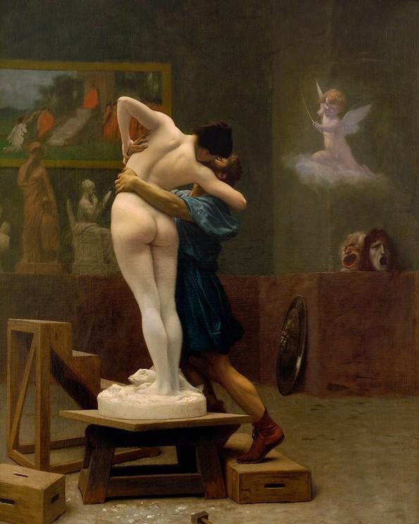 Jean-Léon Géróme / Pygmalion and Galatea (1890)