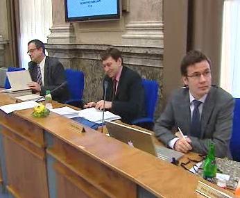 Ministři na zasedání vlády