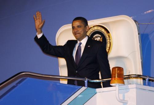 Obama v Turecku