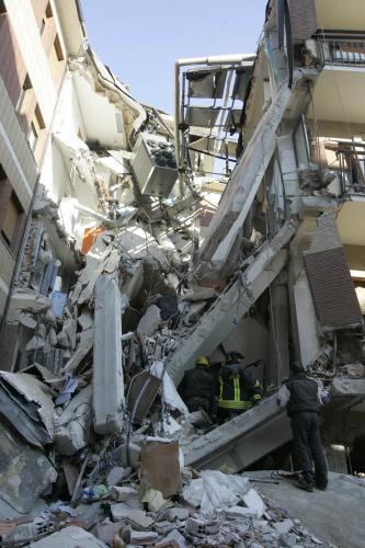 Zemětřesení v italské Aquile