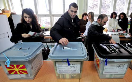 Prezidentské volby v Makedonii