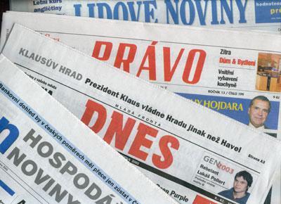 Český tisk