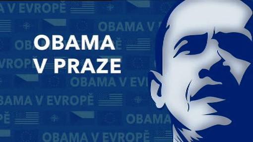 Obama v Praze
