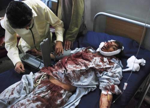 Oběť výbuchu v pákistánské mešitě