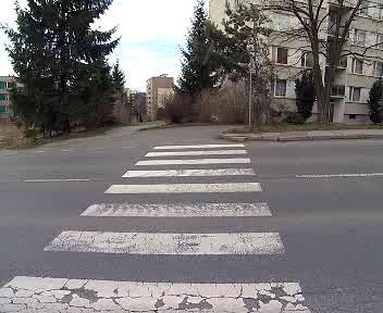Nebezpečný přechod pro chodce