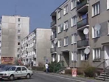 Panelové domy ve Staré Roli