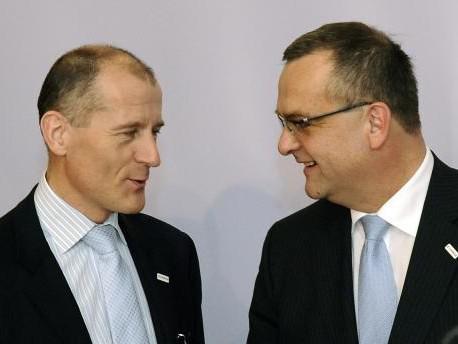 Miroslav Kalousek a Zdeněk Tůma