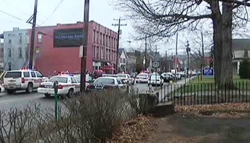 Útok šíleného střelce v Binghamtonu