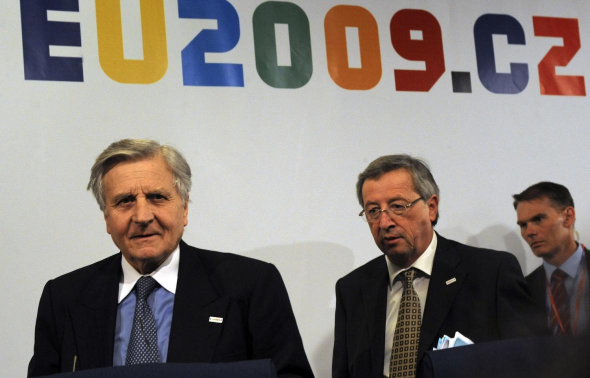 Trichet a Juncker