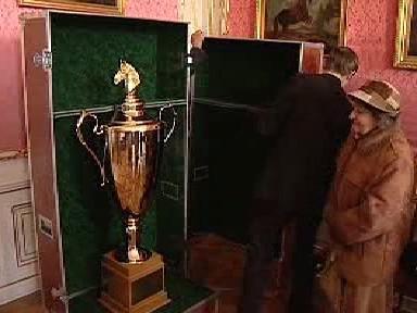 Unikátní jezdecký pohár