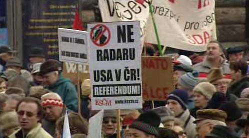 Protest proti radaru