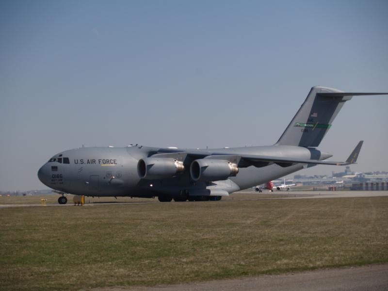 Nákladní letoun U.S. Air force