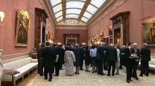 Recepce v Buckinghamském paláci
