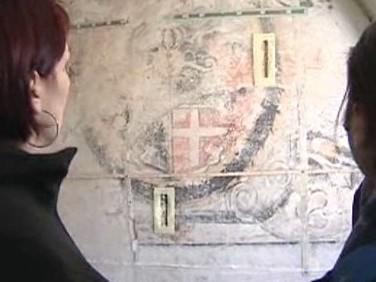 Nástěnný erb ve Volyni