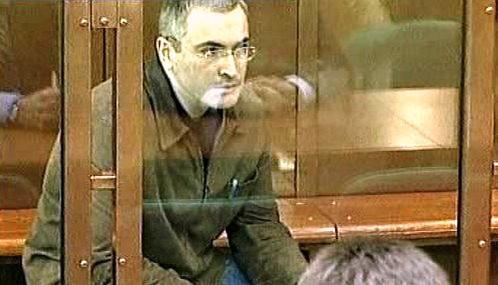 Michail Chodorkovskij před soudem