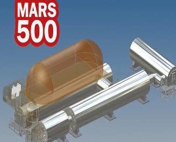 Vizualizace projektu Mars 500