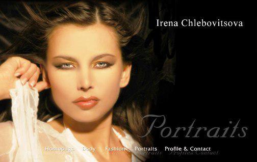 Webové stránky Ireny Chlebovitsové