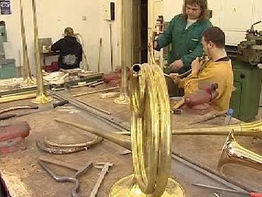 Výrobna hudebních nástrojů v Kraslicích