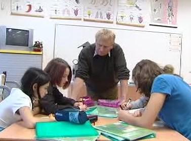 Učitel ve třídě