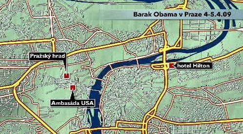 Návštěva Baracka Obamy