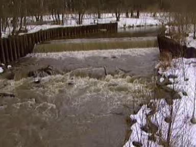 Tání zvyšuje hladiny řek