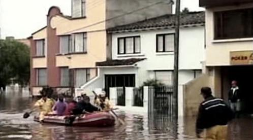 Záplavy v Kolumbii