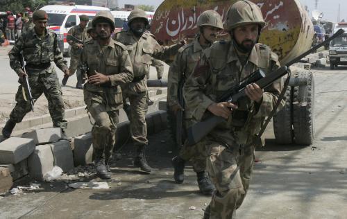 Pákistánské polovojenské jednotky