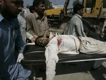 Raněný Pákistánec