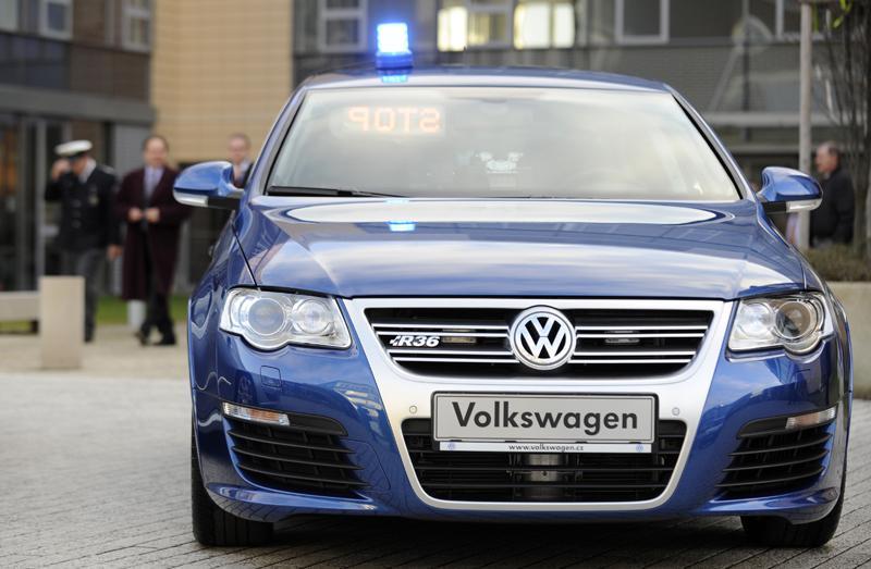 Nový vůz dálniční policie