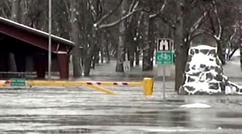 Záplavy v Severní Dakotě
