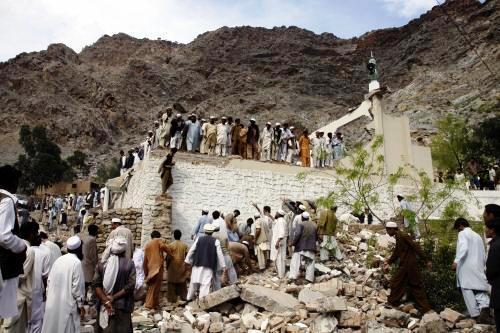 Teroristický útok na pákistánskou mešitu