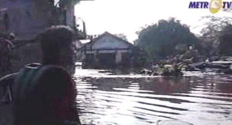 Záplavy v Indonésii