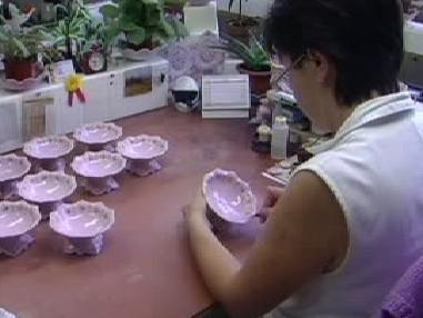 Zaměstnankyně porcelánky