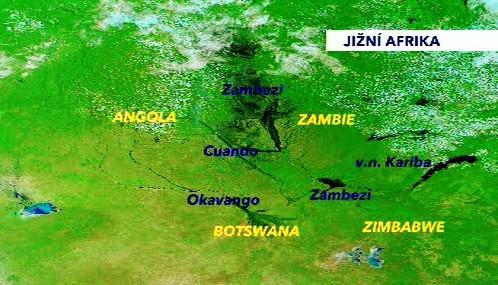 Záplavy na Zambezi