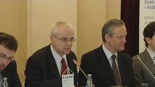 Vladimír Špidla a Cyril Svoboda