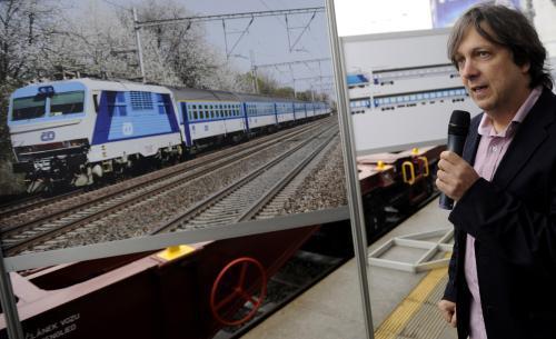 Představení nových barev vlaků ČD