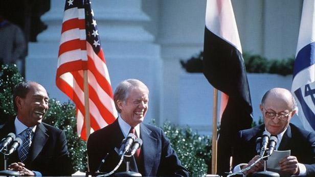 Podepsání egyptsko-izraelské mírové smlouvy