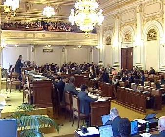 Rozprava při hlasování o nedůvěře vládě