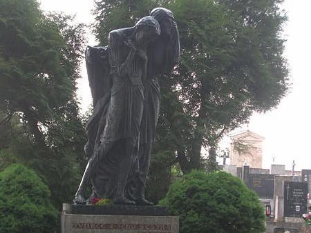 Otokar Březina - náhrobek