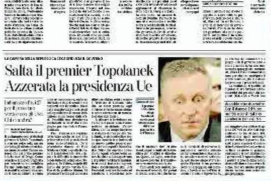 Světový tisk o pádu Topolánkovy vlády