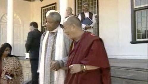 Nelson Mandela a dalajlama