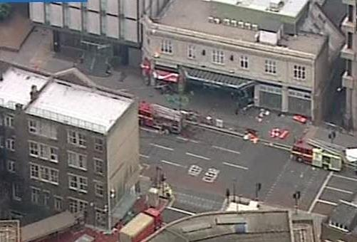 Londýnské metro po teroristickém útoku