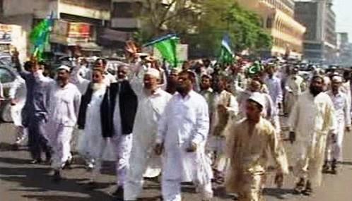 V Pákistánu se demonstrovalo za nezávislé soudy
