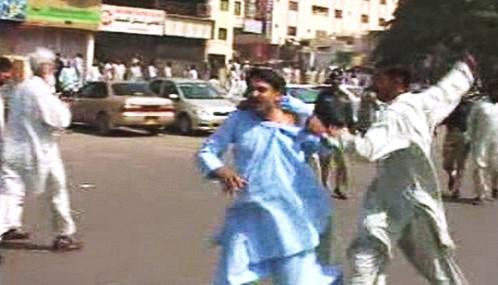 Pákistánská policie rozehnala demonstraci za nezávislé soudy