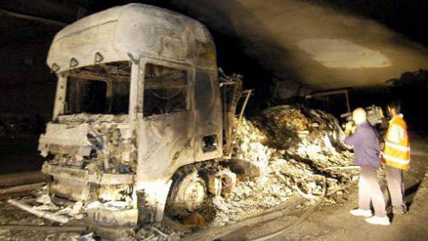 Nehoda v tunelu