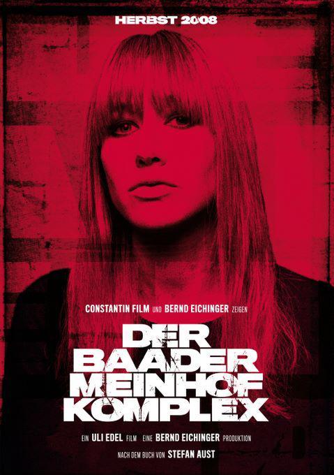 Plakát k filmu Der Baader-Meinhof-Komplex