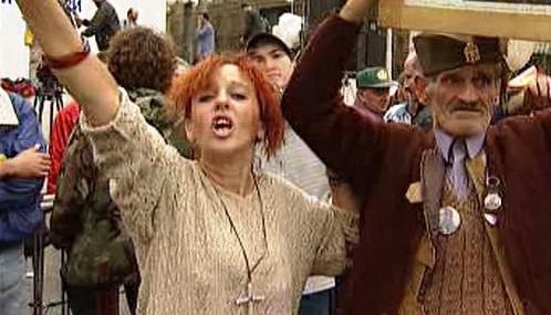 Protesty proti bombardování Jugoslávie