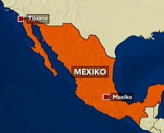 Mapka Mexika