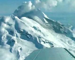 Výbuch sopky Mount Redoubt
