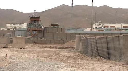 Vojenská základna v Afghánistánu